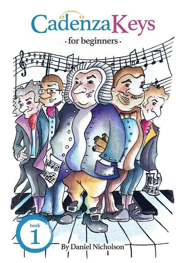 Cadenza Keys For Beginners - Book 1